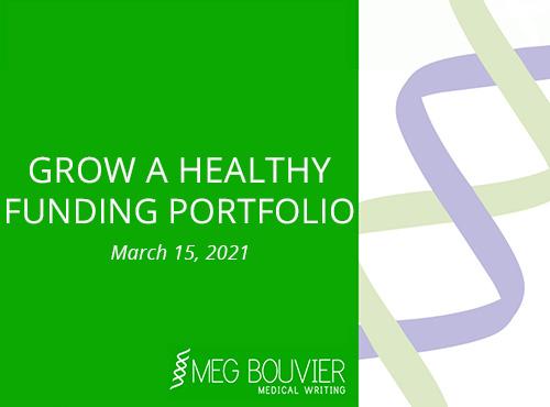 Grow a Healthy Funding Portfolio