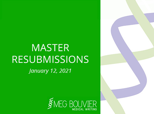 Master Resubmissions