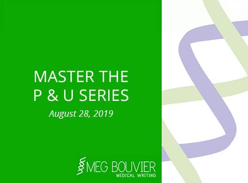 Master the P & U Series