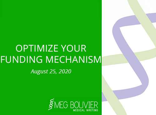 Optimize your Funding Mechanism